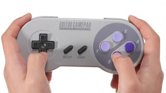 8bitdo SNES30 Bluetooth Game Controller