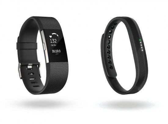 Fitbit Charge 2 и Fitbit Flex 2