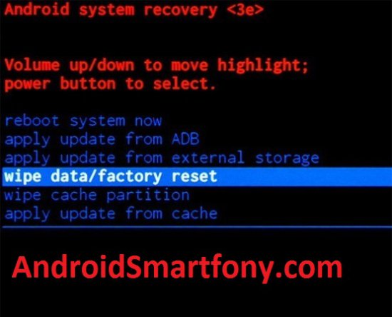 Galaxy J5 Prime factory reset