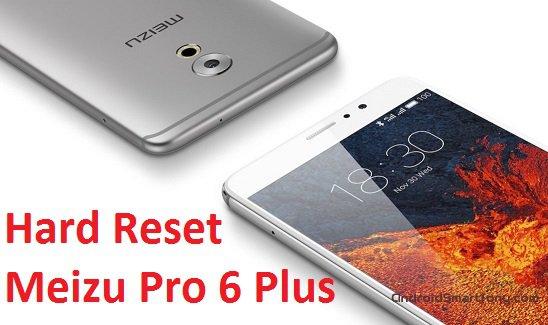 Hard Reset Meizu Pro 6 Plus - сброс настроек, пароля, графического ключа