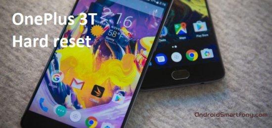 Hard Reset OnePlus 3T - сброс настроек, пароля, графического ключа