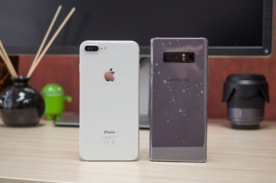 iPhone 8 Plus vs Galaxy Note 8
