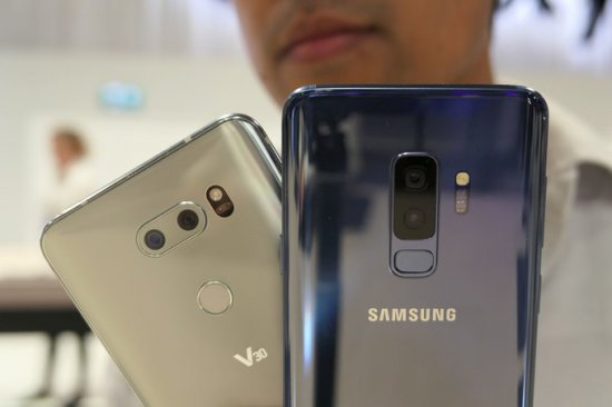 Камеры Galaxy S9 Plus vs LG V30