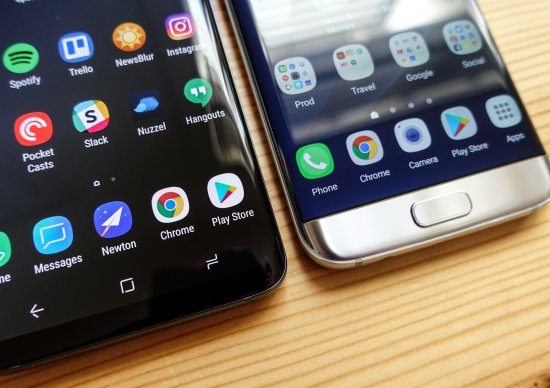 Samsung Galaxy S9 Plus vs Galaxy S7 Edge