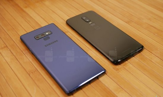 Камеры Note 9 vs OnePlus 6