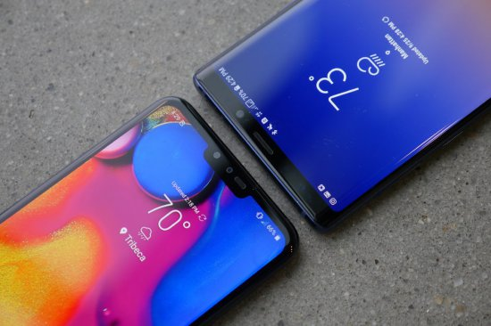 LG V40 ThinQ vs Samsung Galaxy Note 9