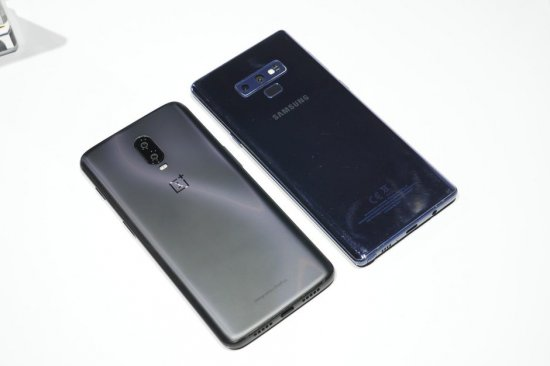 OnePlus 6T vs Samsung Galaxy Note 9