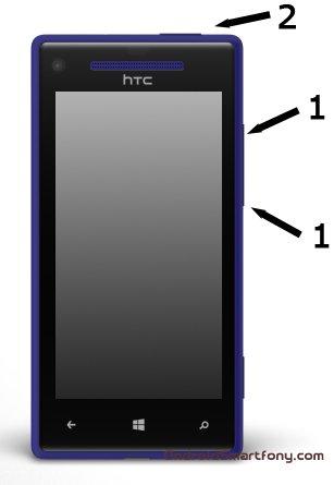 Hard reset HTC 8S на Windows Phone