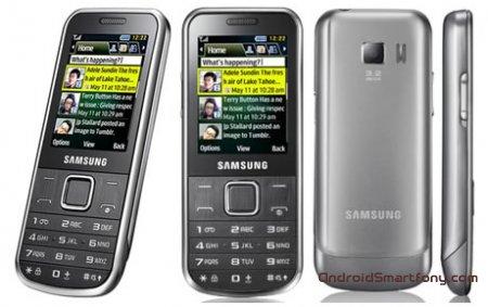Как настроить интернет на Samsung GT-С3530?