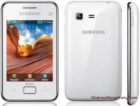 Настройка интернета на мобильном телефоне Samsung Star 3 duos S5222