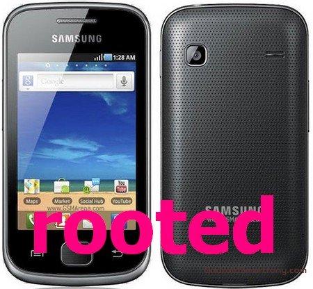 Как получить root права на Samsung Galaxy Gio GT-S5660