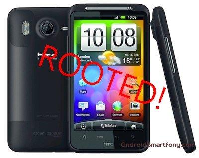 Получение root-прав на HTC Desire HD