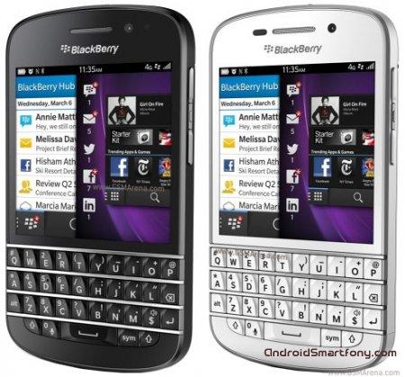 Настройка Интернет-подключения на BlackBerry