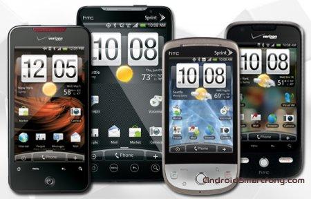 Смартфоны и планшеты HTC - настраиваем подключение к интернету