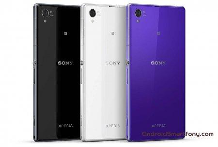 Перезарузка Sony Xperia Z1 - hard reset