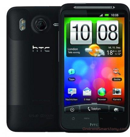 Как настроить интернет на HTC Desire HD
