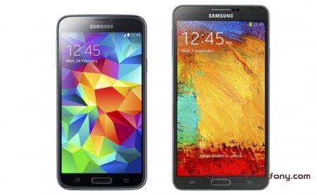 Samsung Galaxy S5 против Galaxy Note 3