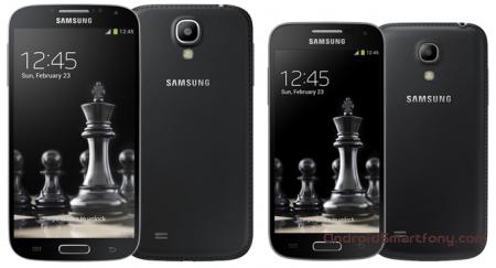 Samsung Galaxy S4 и Galaxy S4 Mini Black Edition