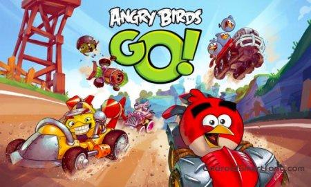 Angry Birds Go - новые гонки со старыми героями