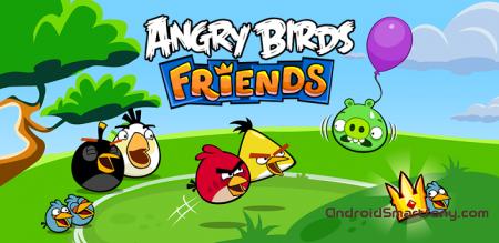 Angry Birds Friends - новые приключения Злых Птиц на Андроид