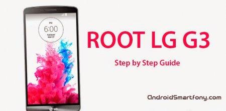 Как получить root права на LG G3