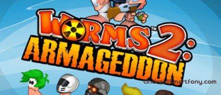 Worms 2: Armageddon - войны червячков на Андроид