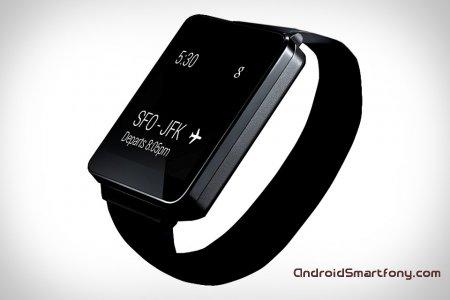 LG G Watch – первые умные смарт-часы от LG