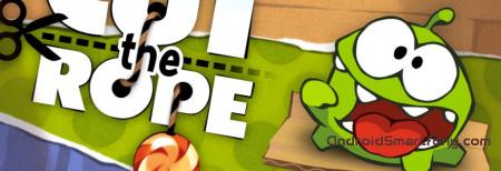 Cut the Rope - легендарная головоломка на Андроид