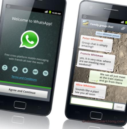WhatsApp - лучший мессенжер на Андроид