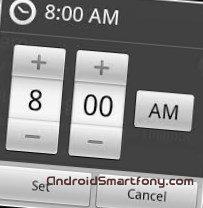 Как изменить время на андроиде?