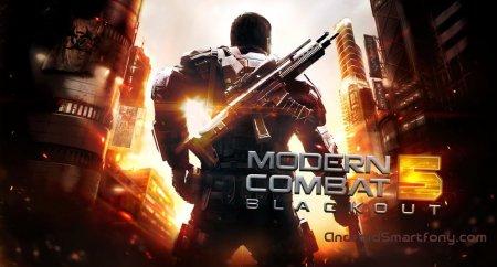 Modern Combat 5: Blackout - продолжение известного шутера на Андроид
