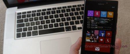 Подключение Windows Phone к iMac, Mac Mini и MacBook