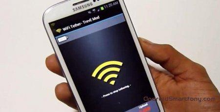 Как раздать Wi-Fi на Samsung Galaxy S3