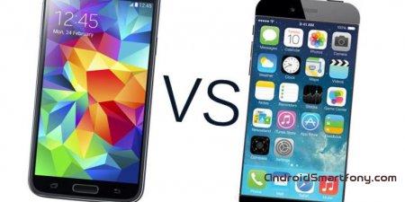 iPhone 6 vs Samsung Galaxy S5: что круче?
