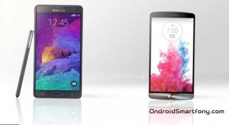 Samsung Galaxy Note 4 vs LG G3. Сравнение и обзор основных характеристик
