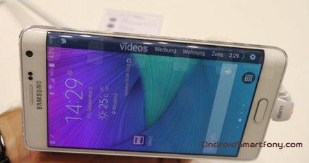 Как можно использовать дополнительный экран Samsung Galaxy Note Edge?