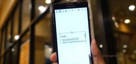 Стилус S Pen в Samsung Galaxy Note 4