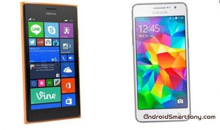 Селфи-смартфоны Nokia Lumia 730 и Samsung Galaxy Grand Prime: что общего и отличия