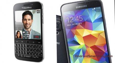 Samsung Galaxy S5 vs BlackBerry Classic - что выбрать?