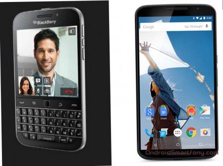 Что купить, BlackBerry Classic (Q20) или Nexus 6?