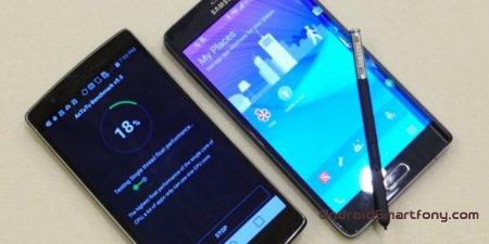 Сравнение: Note Edge и G Flex 2: кто лучше среди изогнутых смартфонов?