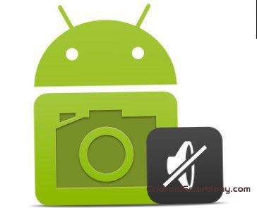 Как убрать звук затвора камеры на android смартфоне или планшете