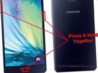 Hard reset Samsung Galaxy A5 - сброс настроек, пароля, графического ключа