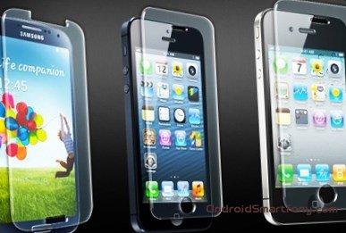 Как наклеить защитное стекло на смартфон правильно
