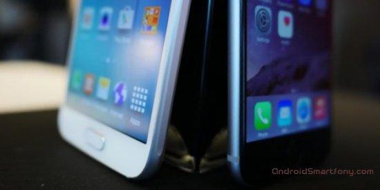 Samsung Galaxy S6 vs Apple iPhone 6 - сравнительныий обзор