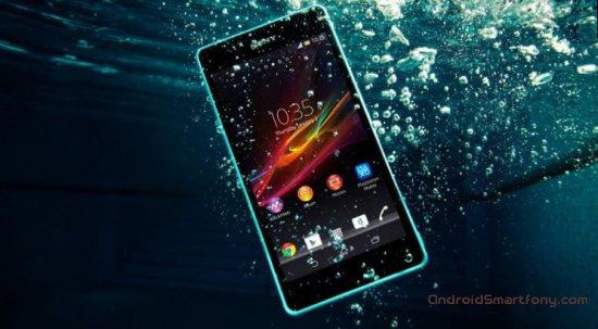 100 метров глубины - не проблема для Sony Xperia Z4