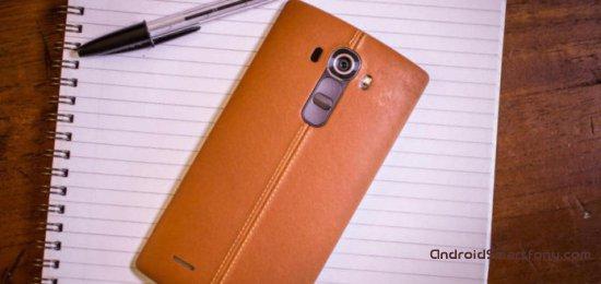 Главные особенности LG G4
