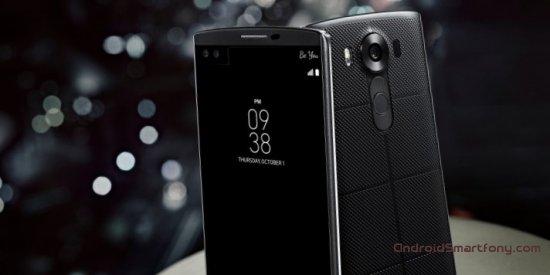 LG V10 - стальной корпус, три камеры и два экрана