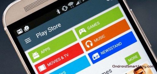Функции Google Play Маркет: очистка истории поиска