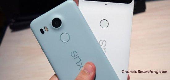 Сравнение Nexus 6P vs Nexus 5X: в чем разница?